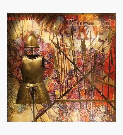 Armour; Knights Of St John Photographic Print