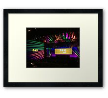 PAX Stage Framed Print