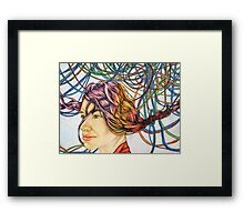 Roped in Dreams Framed Print