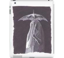 Doctor Who vampire under umbrella iPad Case/Skin