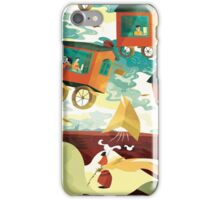 Flying Letters iPhone Case/Skin