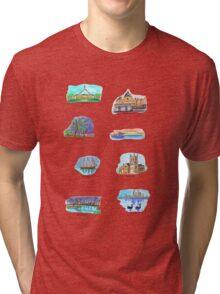 Australia- Capital Cities Tri-blend T-Shirt