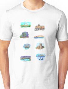 Australia- Capital Cities T-Shirt