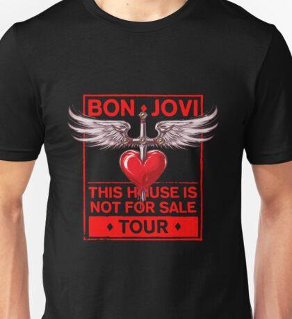 Bon Jovi This House is Not For Sale Tour 2017 Unisex T-Shirt