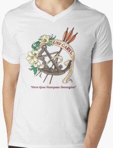USS Caryl Official Logo Mens V-Neck T-Shirt