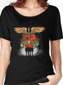 Bon Jovi World Tour Women's Relaxed Fit T-Shirt