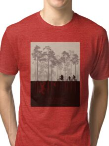 Stranger things Tri-blend T-Shirt