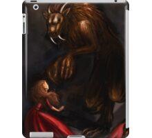 Beauty Meets the Beast iPad Case/Skin
