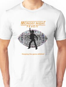 Monday Night Fever Disco Football Unisex T-Shirt