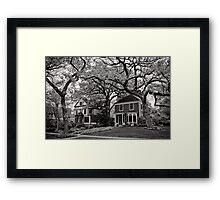 Side by Side, Oak Park Chicago Framed Print