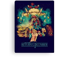 Return of the Plumber Canvas Print