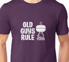 Old Guys Rule Funny Grilling Camping Unisex T-Shirt