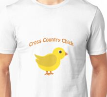 Cross country Chick Unisex T-Shirt