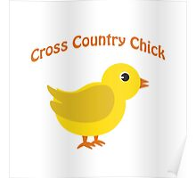 Cross country Chick Poster