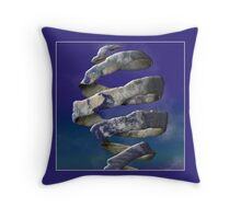 My World is Unraveling  Throw Pillow