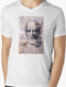 Pablo Picasso Mens V-Neck T-Shirt