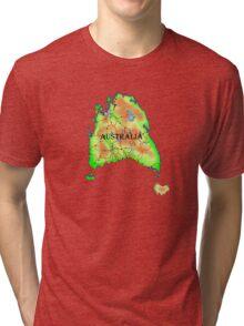 Tasmania's Revenge Tri-blend T-Shirt