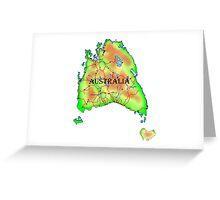 Tasmania's Revenge Greeting Card