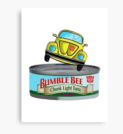 Transformers G1 Bumblebee Tuna Canvas Print