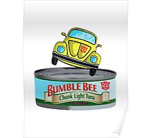 Transformers G1 Bumblebee Tuna Poster