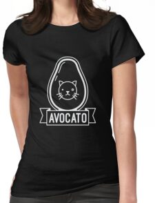 Avocato - Funny Avocado Cat Saying Quote Womens Fitted T-Shirt