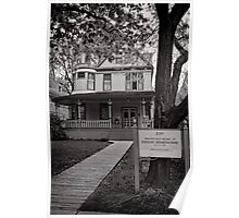 The home of Hemingway, Oak Park Chicago Poster
