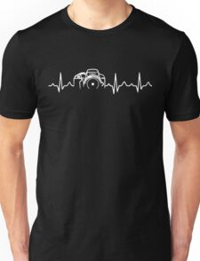 Photographer T-Shirt - Heartbeat Unisex T-Shirt