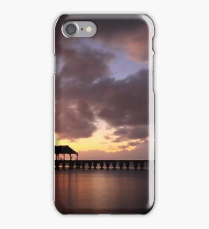 Hanalei Pier iPhone Case/Skin