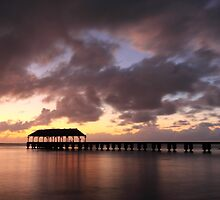Hanalei Pier by James Eddy