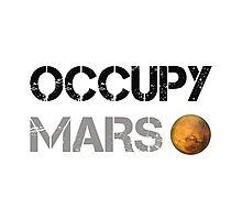 Occupy Mars Photographic Print