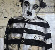Charles Chaplin by Krzyzanowski Art