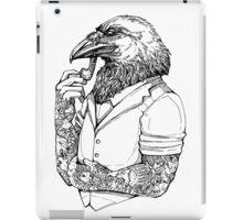 The Crow Man iPad Case/Skin