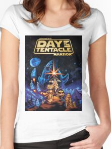 Day Of The Tentacle  Women's Fitted Scoop T-Shirt