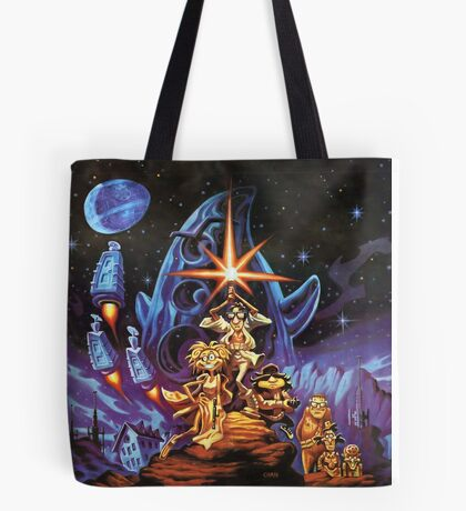 Day Of The Tentacle  Tote Bag
