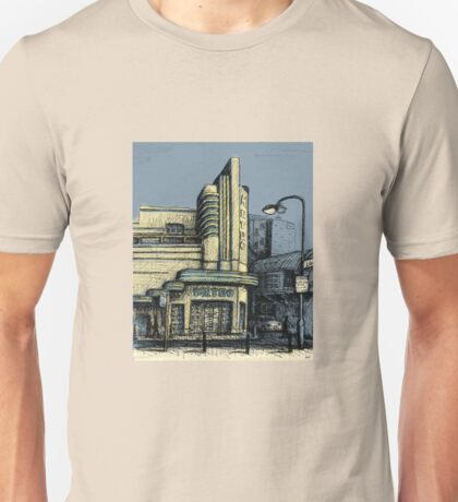 The Metro (Minerva) Theatre, Potts Point Home of Dr D Studios, Kennedy/Miller/Mitchell production company Unisex T-Shirt