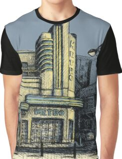 The Metro (Minerva) Theatre, Potts Point Home of Dr D Studios, Kennedy/Miller/Mitchell production company Graphic T-Shirt
