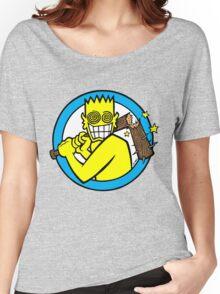 Allroy Broken Bat Women's Relaxed Fit T-Shirt