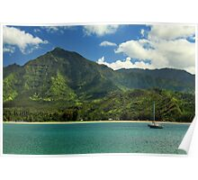 Ready To Sail In Hanalei Bay Poster