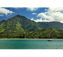 Ready To Sail In Hanalei Bay Photographic Print