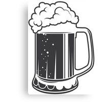 Mug beer Canvas Print
