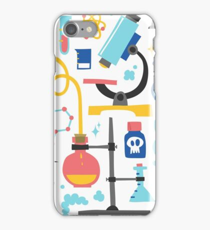 Chemistry laboratory equipment  iPhone Case/Skin