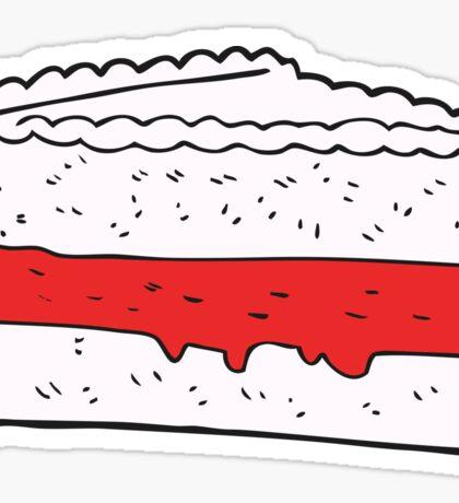 cartoon cake Sticker