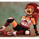 Roller Derby by Leonie Yue
