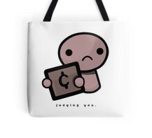 Judging you (light background) Tote Bag
