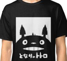Studio Ghibli My Neighbor Totoro Black Edition. Classic T-Shirt