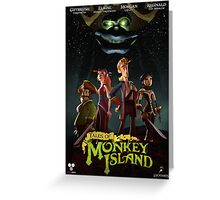Monkey Island 5  Greeting Card