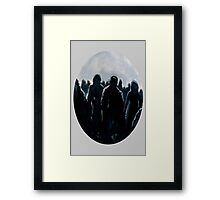 Zombies (Are Hip Again) Framed Print