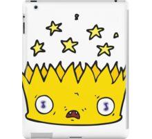 cartoon magic crown iPad Case/Skin