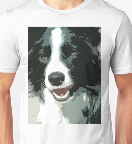 Border Collie Dog Unisex T-Shirt