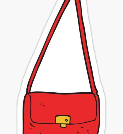 cartoon handbag Sticker